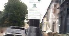 街灯の充電ポイント