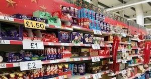 スーパーマーケットで見かけたもの