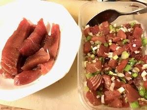 ポケ/ポキ丼もどき