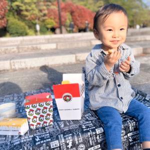CRISPY CHICKEN n' TOMATOの韓国チキンを持ってピクニック