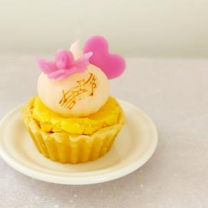 キューピットのカップケーキ・キャンドル♡