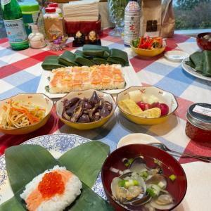 初挑戦の笹寿司、押し寿司の評価は?