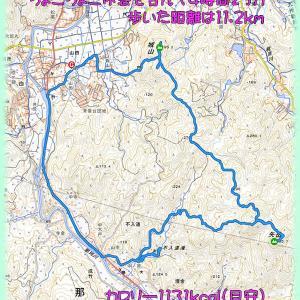 2019.12.13 福岡県那珂川市城山と矢岳・不入道の滝に行ってきた。