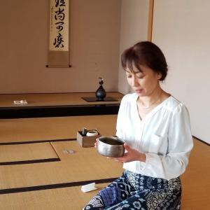 茶道の世界も楽しんでます
