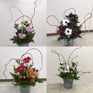 いろんなお花の組み合わせができます