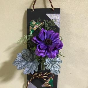 お花を選べる壁飾りワークショップ