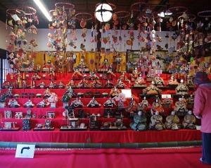 塩山 甘草屋敷の雛飾り 慈雲寺の糸桜