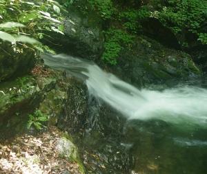 奥昇仙峡 清涼感あふれる板敷渓谷