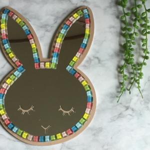 キッズ向け ウサギのアクリルミラー