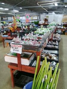 今日から三日間は、北川内町の百姓の店、北川内直売所での通常営業です。