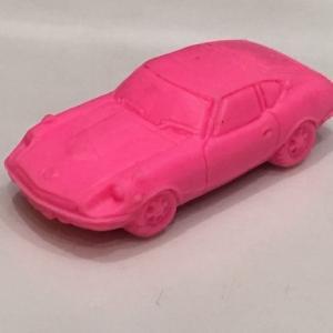 カー消しゴム フェアレディZ432 シャコタン ピンク