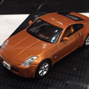 1/43 日産オリジナル (京商製)FAIRLADY Z(Z33) COUPE  orange