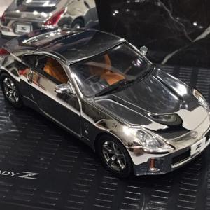 1/43 日産オリジナル (京商製)FAIRLADY Z(Z33) COUPE MY07 CHROME