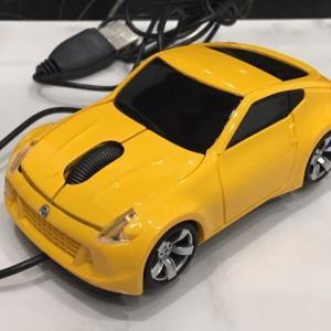 日産オリジナル FAIRLADY Z オリジナル USBマウス イエロー 非売品