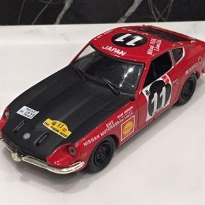 1/43 メーカー不明 DATSUN 240Z #11 Winner Safari Rally 1971