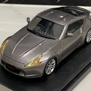 1/43 Hi-Story NISSAN FAIRLADY Z (2009 Z34) Stylish Package BLADE SILVER