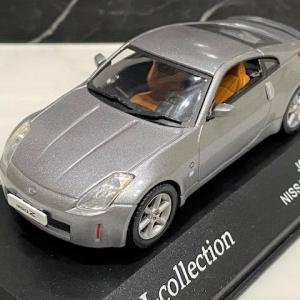 1/43 京商 J-collection NISSAN 350Z COUPE Dark Silver