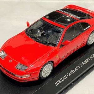 1/43 京商 NISSAN FAIRLADY Z (CZ32) Super Red with Option Stlcker