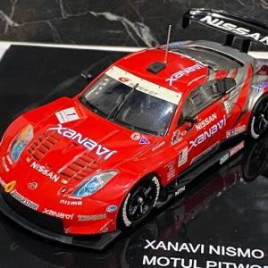 1/43 ニスモオリジナル NISMO 2005 NISMO Z LATE MODEL SET XANAVI NISMO Z No.1