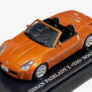 1/64 京商 Beads Collection 100 FAIRLADY Z (Z33) ROODSTAR オレンジ