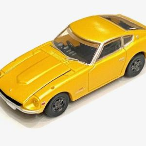 1/64 タカラトミーアーツ ホビーガチャ 日産 フェアレディZ 432 コレクタブルミニカー イエロー
