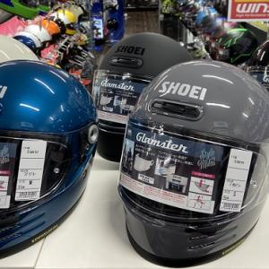 SHOEI『Glamster』待望の入荷!