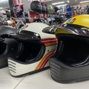 AGV『X101』クラシックなヘルメット入荷!