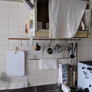 モノと動きの流れを工夫したキッチン