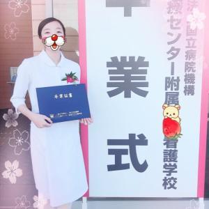 卒業式(^^)とホミンたん