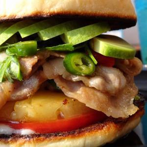 大阪 milia burger 2020/07