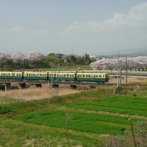 三岐鉄道でポタリング5 跨線橋からの眺め
