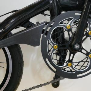 自転車をカスタマイズ7 チェーンガードの取付