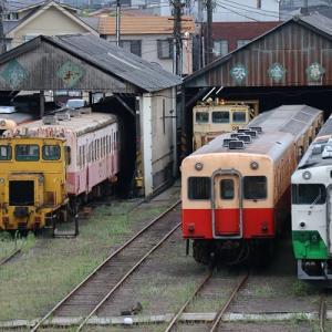 そろそろキハ40の陸送? 小湊鐵道 上総山田駅