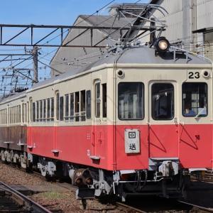 動態保存車両 仏生山駅に帰還