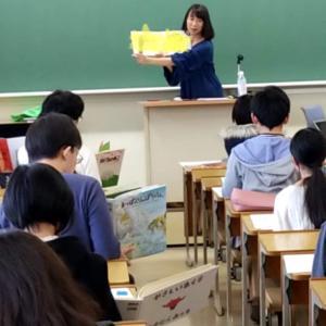大学生に絵本のお話をさせてもらった中で 盛り上がったこと