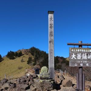 大菩薩嶺|登山初心者にお勧めの日帰りで登れる日本百名山に挑戦!