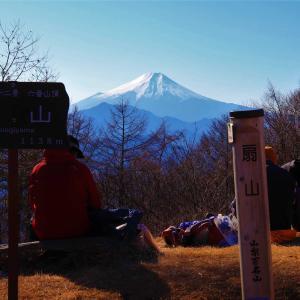 百蔵山~扇山|桂川ウェルネスパークから秀麗富獄十二景周回コースに挑戦!