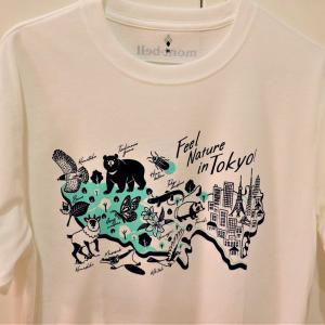 オリジナルTシャツ 高尾ビジターセンターオンラインショップで mont-bell とコラボのTシャツをGET!
