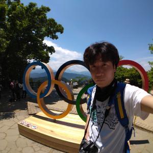 高尾山 東京2020オリンピック記念モニュメントを見に高尾山に挑戦!