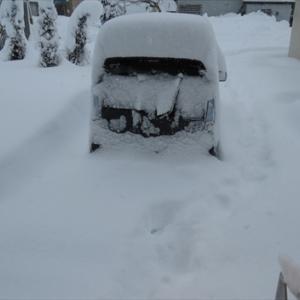 全国ニュースになるほどの大雪だった