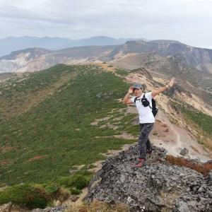 今日は登山の日 百名山「安達太良山」に登山してきました(^^)/