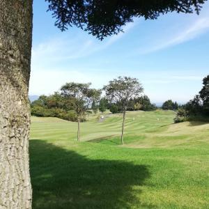 新潟県、当間高原リゾートペルティオゴルフクラブでラウンドです!