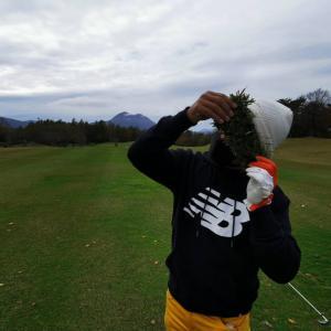一足早い冬ゴルフ??白河メドウゴルフ倶楽部