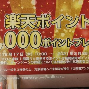 ミサワホームさんから簡単に合計6000楽天ポイント頂いた話