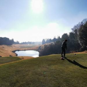 石岡ゴルフ倶楽部ウエストコースでポカポカラウンド