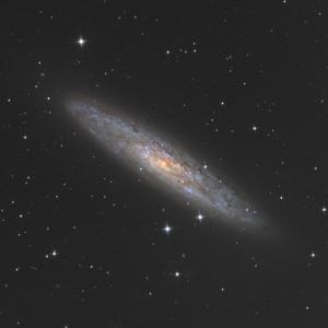 14年ぶりに撮影したNGC253銀河