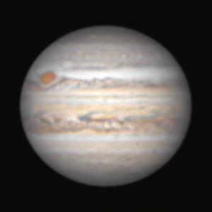 昨夜(8月6日)の木星