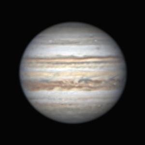 昨晩(8月10日)の木星