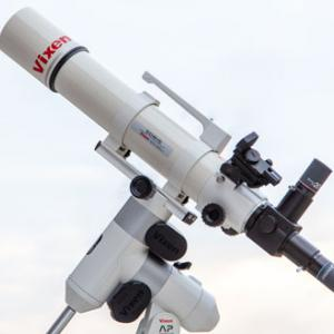 ビクセンSD81SとSDレデューサーHDキットで天体撮影