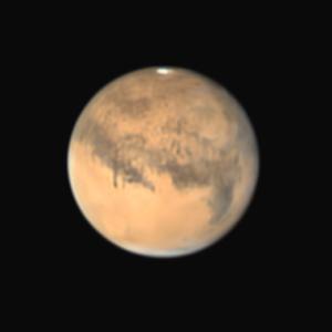 26日の火星